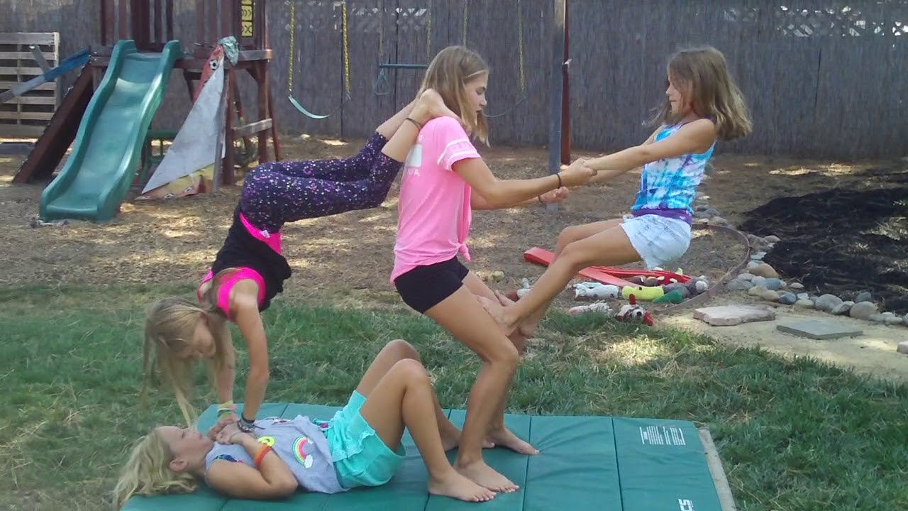 43 Person Yoga Challenge  Modern Life
