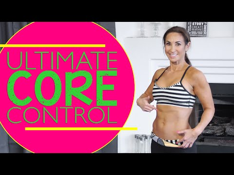 Flat Belly and Ultimate CORE Control Workout | Natalie Jill