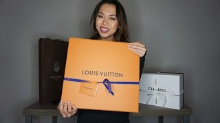 Louis Vuitton Speedy 30 Bandouliere Damier Ebene Reveal, Plus Chanel & Goyard