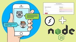 Создание веб чата на Socket.io и Node JS за 40 минут!