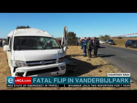 Fatal flip in Vanderbijlpark