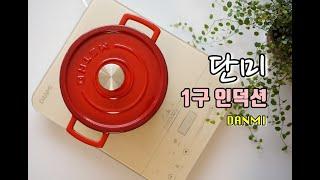단미 1구 인덕션 DANMI 감성 주방 전기레인지 후기