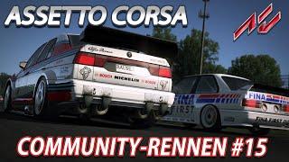 Community-Rennen #15 | Assetto Corsa [GER] [G27] Mercedes 190 E 2.5-16 Evo II DTM @ Vallelunga