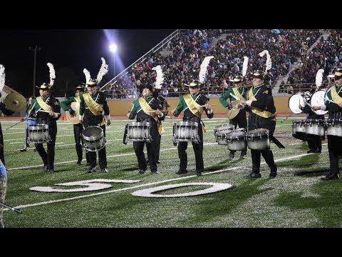 McCollum High School Band Frontier Bowl 2018
