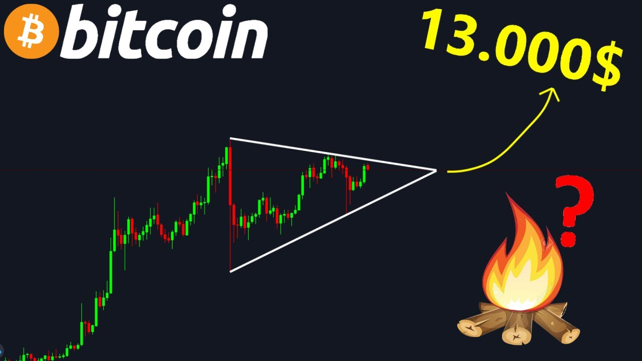 BITCOIN 13.000$ SI ON CASSE VERS LE HAUT !? btc analyse technique crypto monnaie