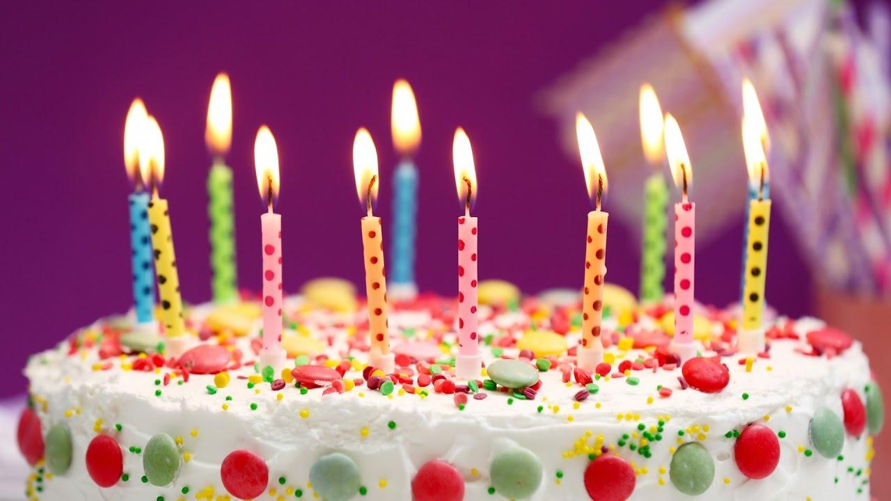 Днем рождения, картинки торт поздравление
