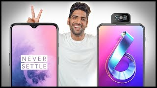 Oneplus 7 Vs Asus 6z Zenfone 6 Full Comparison - What Should You Buy
