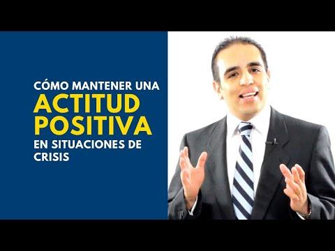 Cómo mantener una actitud positiva en situaciones de crisis | Curso de ventas con Carlos Flores