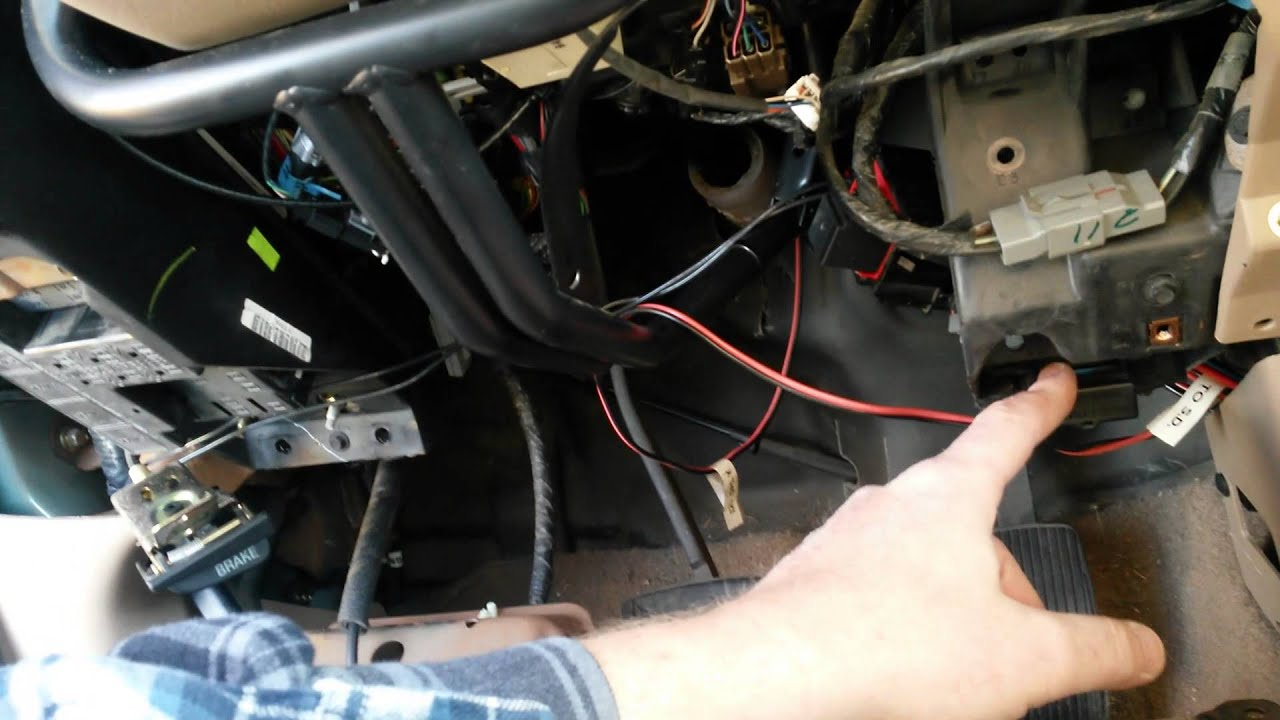 2001 Ford F 250 Starter Solenoid Diagram Wiring Will Be A 95 150 Brake 1999 Expedition Flasher Relay Youtube