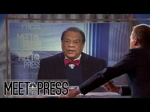 Andy Young: 'It Doesn't Help' To Label People Racist (Full) | Meet The Press | NBC News