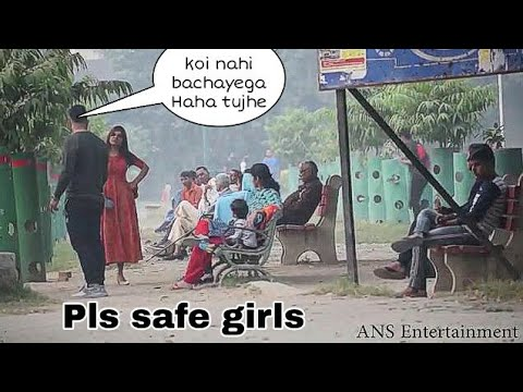 GANGSTER PRANK 4 (harassment girl) | ANS Entertainment | prank in INDIA social experiment 2019