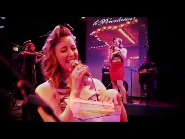 lePercolatuer :: Caravan & Beyonce Naughty Girl cover (live @Mayne Stage) :: gypsy jazz alt-folk