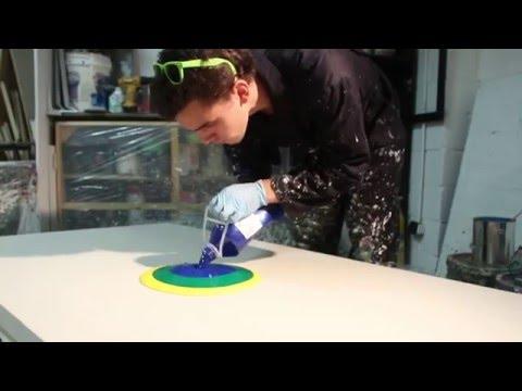 Callen Schaub Spin Painting