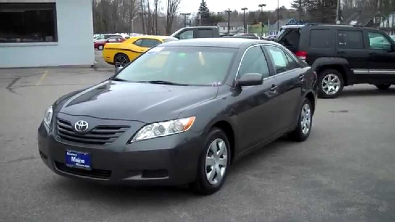 Best priced used 2008 toyota camry le southern maine for Southern maine motors saco maine