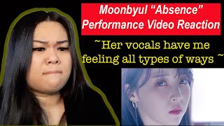Download Mp3 MOONBYUL ABSENCE PERFORMANCE VIDEO REACTION Her vocals sound incredible I fall for her AGAIN