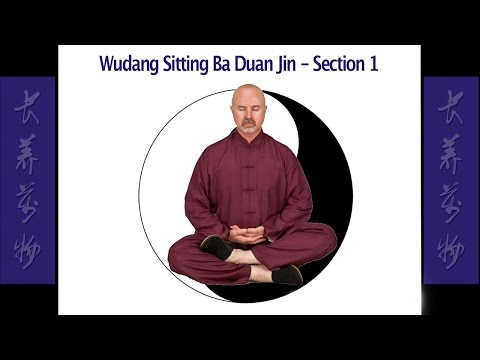 Wudang Sitting Ba Duan Jin Section 1 – Simon Blow Qigong