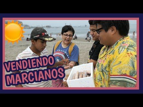 VENDIENDO MARCIANOS/CHUPS EN LA PLAYA - Ariana Bolo Arce