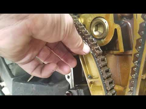Replacing Timing Chains On A Mercury Sable Part 2