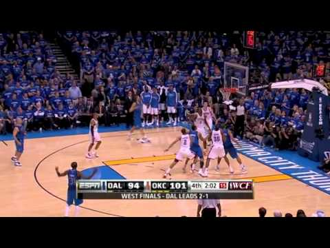 Oklahoma City vs Dallas Game 4 NBA 2010-2011 Western Conference Finals Highlights - YouTube