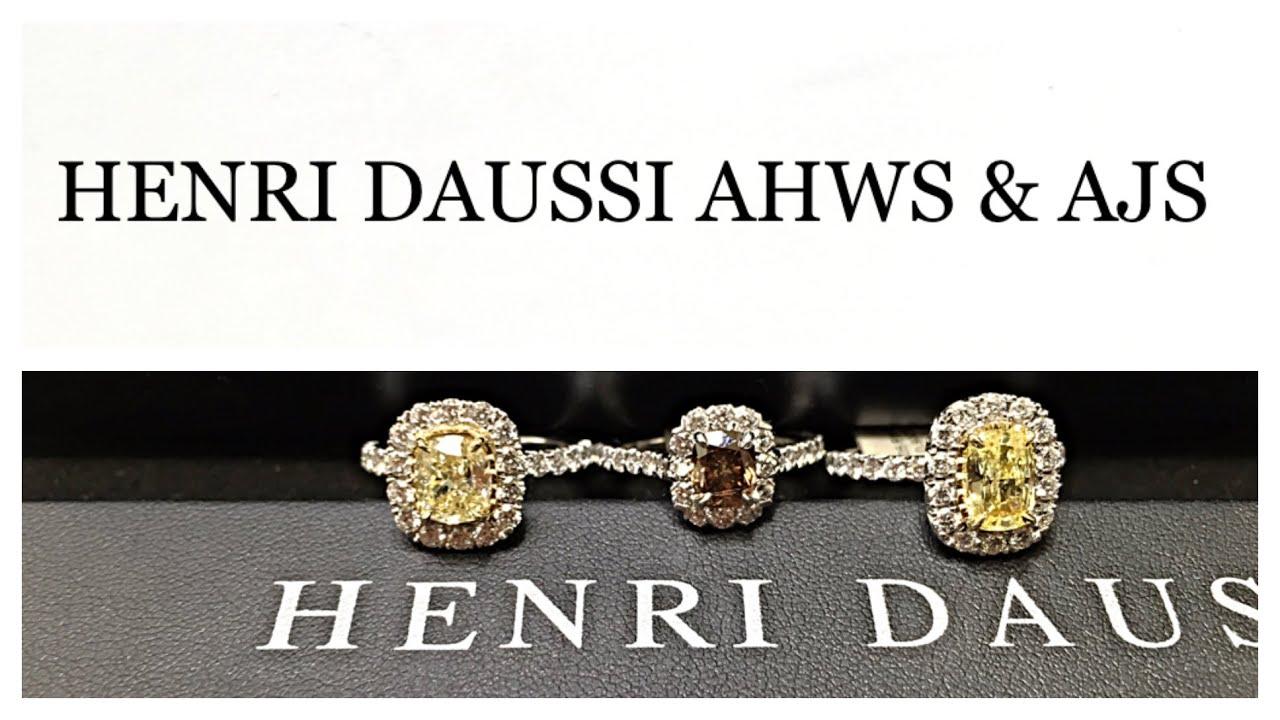 henri daussi ahws ajs w fancy colored diamonds youtube