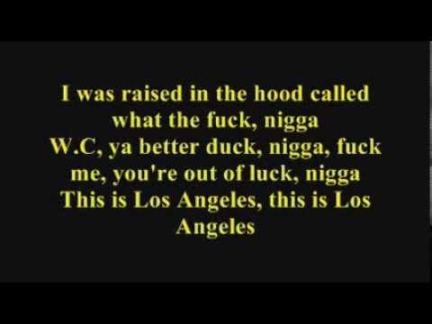 WC - This is Los Angeles (Lyrics)
