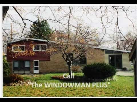 Window Replacement Metro Detroit Michigan, West Bloomfield, Commerce Township, Novi MI.wmv