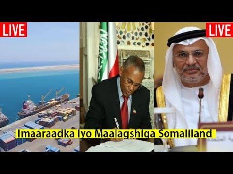 Imaaraadka Oo Shaacisay Dhaqaalaha ay Ku Maalgalisay Dakada Somaliland