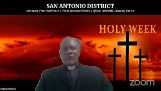 Holy Week 2021:  2nd Word - Rev. Reginald Honors