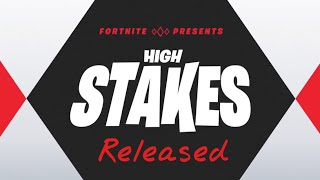 "Fortnite ""High Stakes"" Challenges Confirmed! Crowbar and Money Contrail!"