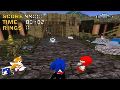 Sonic the hedgehog 3D Sage 2009 Demo 2/2