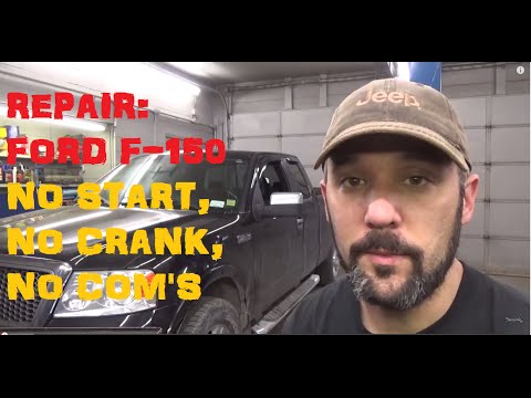Ford F150 5.4 No Start, No Crank, No Communications Codes: U1900, U2023