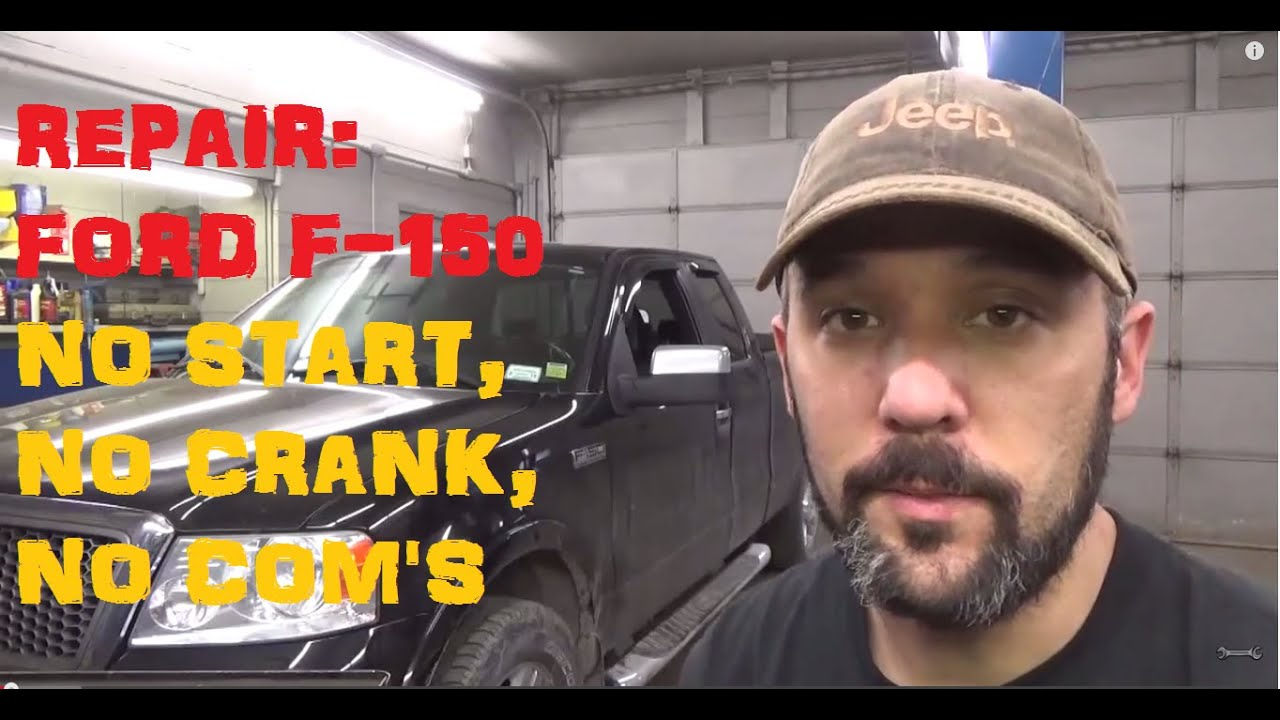 2006 Ford F350 Wiring Schematic Ford F150 5 4 No Start No Crank No Communications Codes