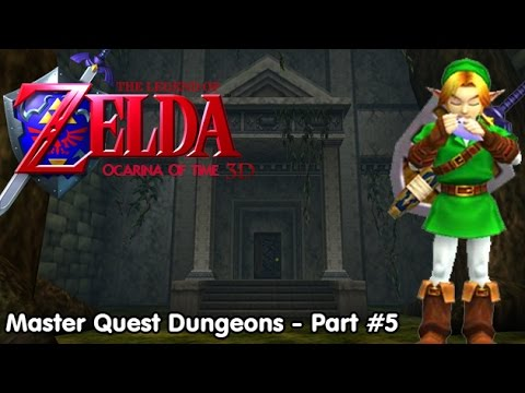 Slim Plays Ocarina of Time 3D (Master Quest Dungeons) - Part