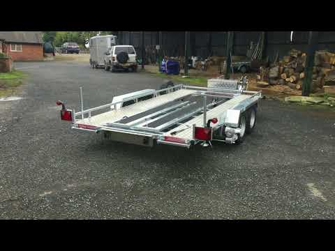Motorised Trailers With Remote Controlled Mover by Phoenix Trailers