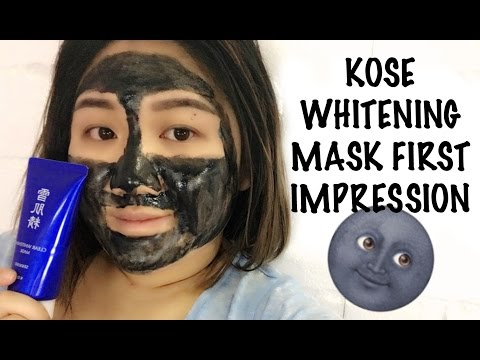 Kose Clear Whitening Mask | First Impression