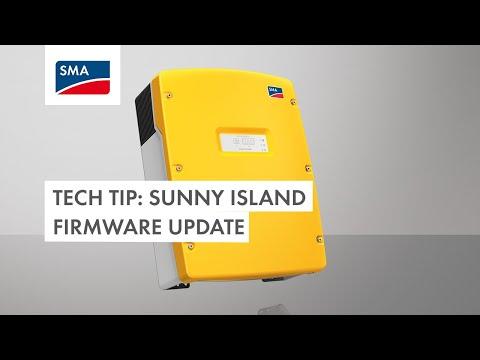 Tech Tip: Sunny Island Firmware Update