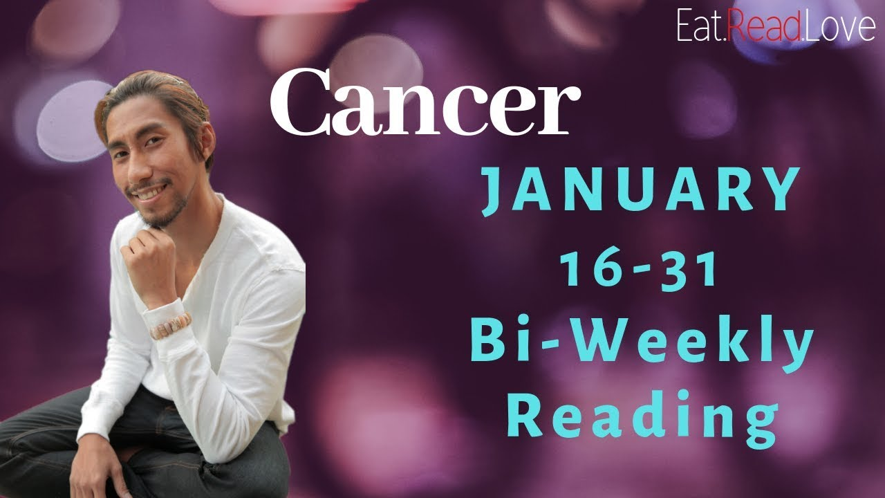 cancer weekly 20 to 26 tarot january