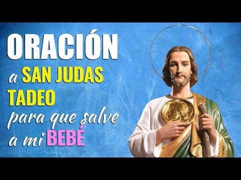 🙏 Oración a San Judas Tadeo ¡SALVA A MI BEBÉ, por favor! 👶