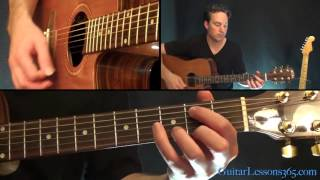 A Horse With No Name Guitar Lesson - America