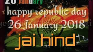 Republic day song/ Vande Matram mix in Sandese  aate hai  hindi lyrics