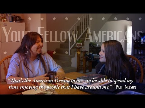 """American Dream: """"Americans are never going to achieve it because they always want more."""" -Crouser #4"""