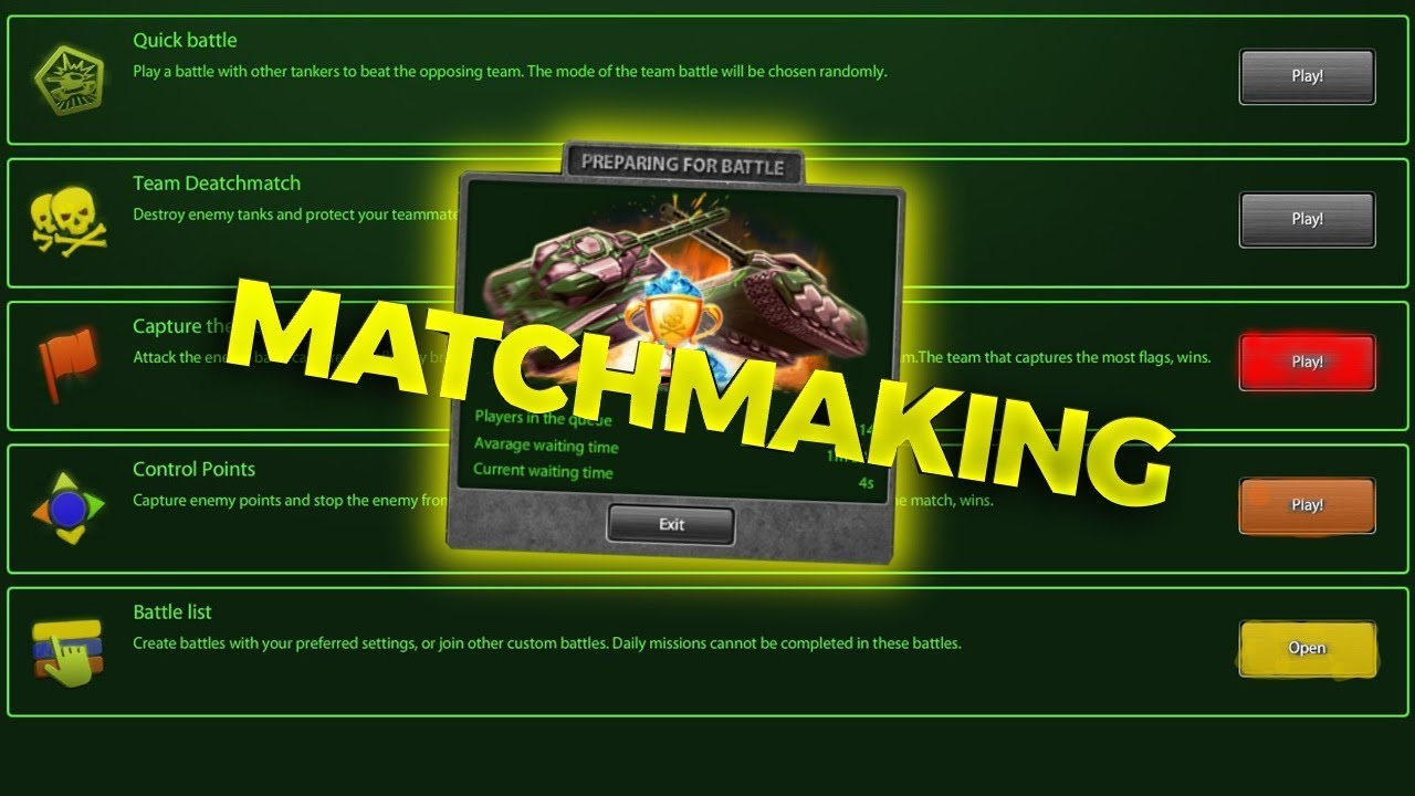 People have also attempted to adapt the Elo system for team matchmaking.