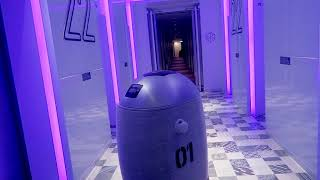 Techmetics Techi Yotel robot review by Global Fashion Gal Brianna Degaston