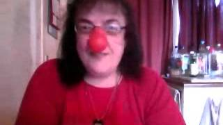 my red honking nose that squeaks lol