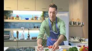 «Греческий салат» или сто калорий на двоих