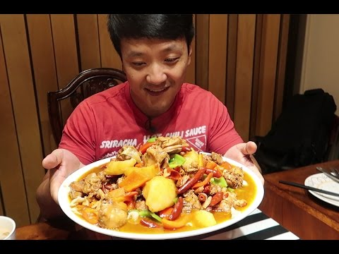 Thumbnail: GIANT SPICY Chicken & Hand Pulled Noodles: Xinjiang Cuisine Guide