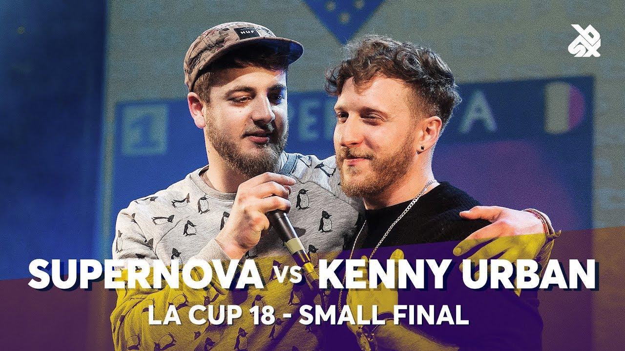 SUPERNOVA vs KENNY URBAN | La Cup WORLDWIDE 2018 | Small Final