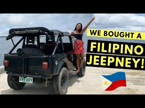 MY DAD TOLD ME NOT TO BUY THIS! (Our first car – Filipino Jeepney!)