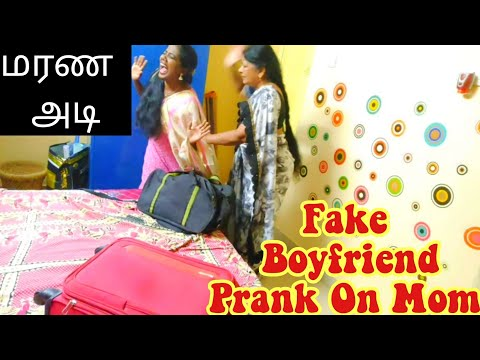 Fake Boyfriend Prank on Mom | Tamil Pranks | Ani's Tamil Lifestyle