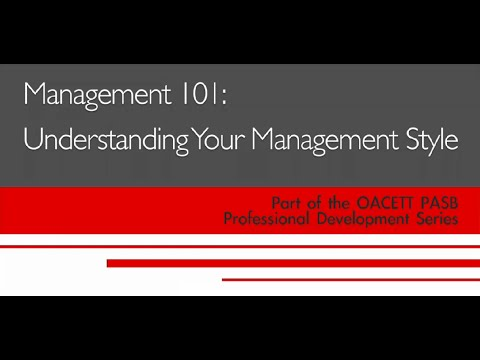 Management Understanding Your Management Style